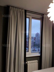 Пошив штор ы спальню на заказ в Москве