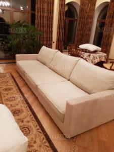 Съёмные чехлы на диван и кресла